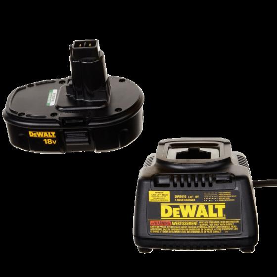 DEWALT DC970K-2 18-Volt Drill-Driver Kit