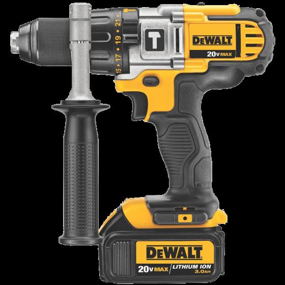 DCK290L2 20-Volt MAX Li-Ion 3.0 Ah Hammer Drill and Impact Driver Combo Kit